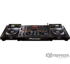 Coppia di Pioneer CDJ-2000 Nexus (2) Lettore CD 1 DJM-2000 DJ Mixer