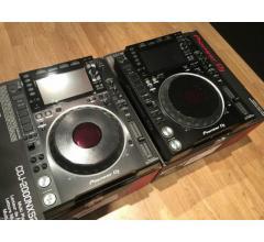 Coppia di Pioneer Dj set 2x Cdj-2000 Nxs2 & Djm-900 Nxs2 +Hdj-2000 Mk2