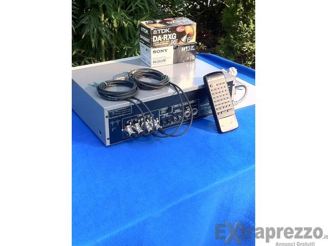 registratore professionale marca:DAT Panasonic
