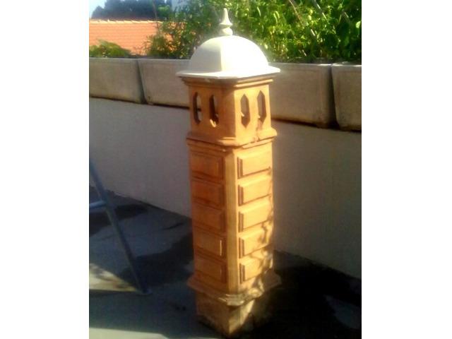 Antichi comignoli in terracotta