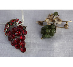 Duetto  d' antan- vintage spille  grappoli d'uva
