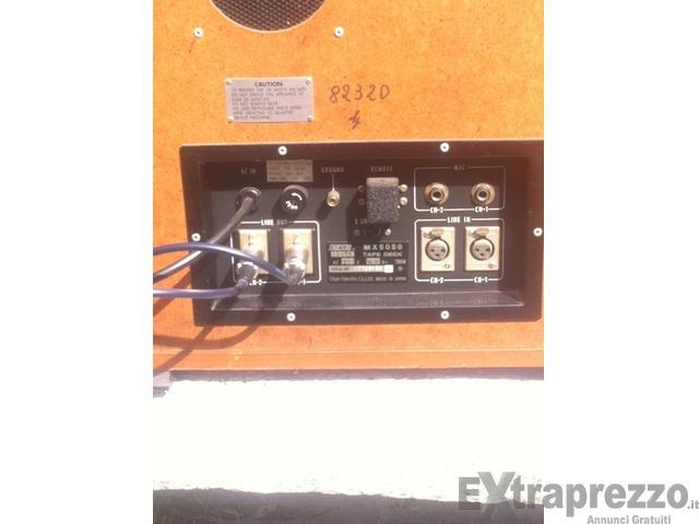 registratore a bobine professionale