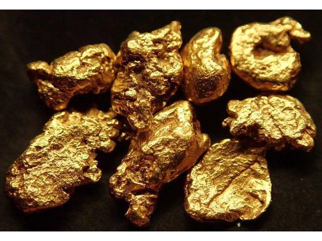 Vendiamo lingotti d'oro e polvere d'oro disponibili