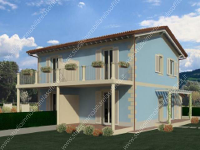 Case - Piano di conca belle villette bifamiliari di nuova costruzione
