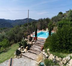 Case - Villa ristrutturata sulle colline di lucca con piscina e magnifico panorama