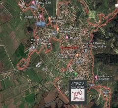 Case - Massarosa - villetta bifamiliare con 700 mq di giardino