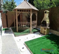 Rosignano marittimo - loc. acquabona - trilocale con garage e giardino