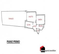 Case - Schio : ampio miniappartamento con terrazza di oltre 70 mq