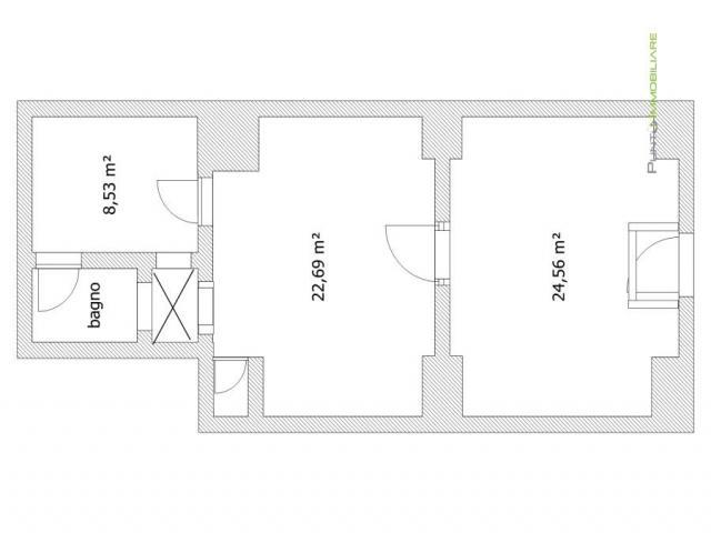 Case - Ufficio 3 vani in centro