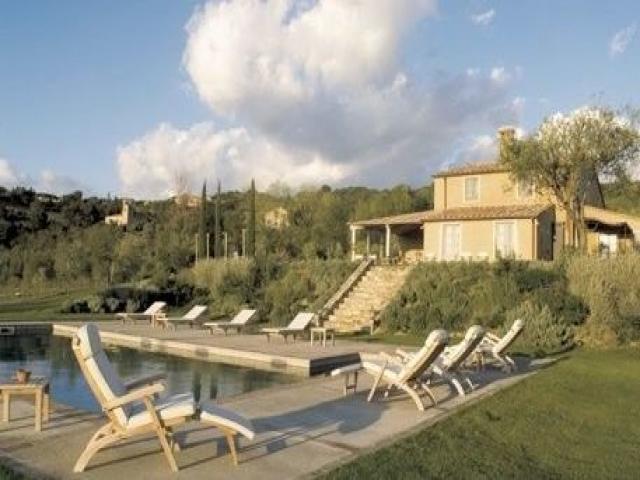 Villa con piscina vicino a san casciano dei bagni