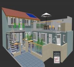 Darsena: nuova realizzazione di appartamenti con terrazzo, giardino o resede
