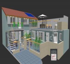 Case - Darsena: nuova realizzazione di appartamenti con terrazzo, giardino o resede