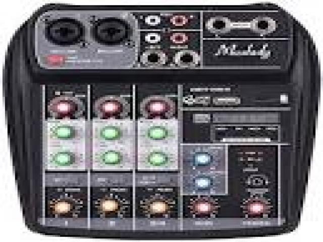 Telefonia - accessori - Beltel - muslady console mixer 4 canali tipo promozionale