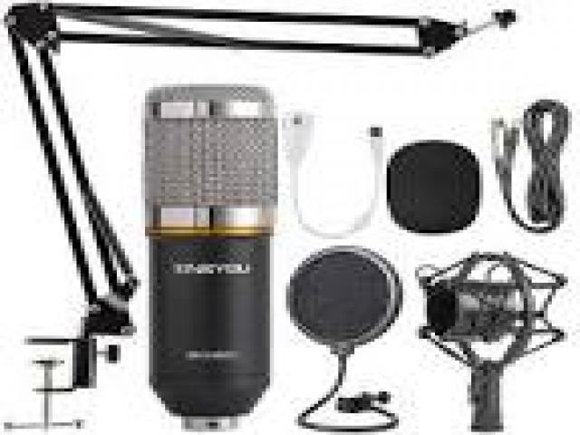 Telefonia - accessori - Beltel - zingyou bm-800 microfono a condensatore ultimo tipo