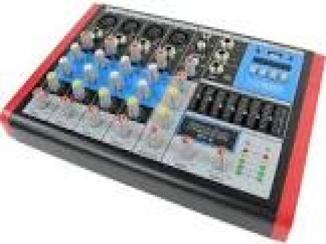 Telefonia - accessori - Beltel - extreme sound rv-6 mixer audio molto conveniente