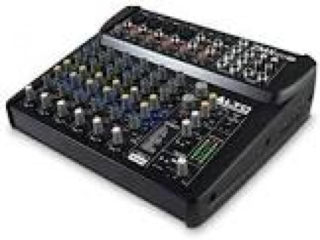 Telefonia - accessori - Beltel - alto professional zmx122fx mixer audio tipo occasione
