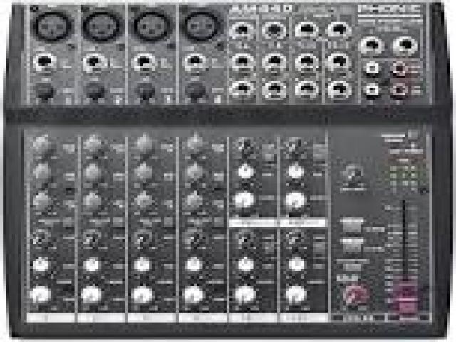 Telefonia - accessori - Beltel - phonic am440 mixer 12 canali ultimo lancio