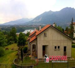 Imberido- ampia villa a schiera con splendida vista panoramica
