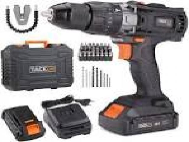 Telefonia - accessori - Beltel - tacklife trapano avvitatore batteria tipo nuovo