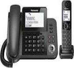 Beltel - panasonic kx/tgf310exm telefono a filo e cordless tipo economico