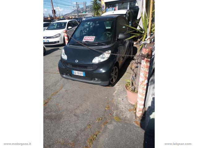 Auto - Smart fortwo 52 kw mhd coupé black tailor made