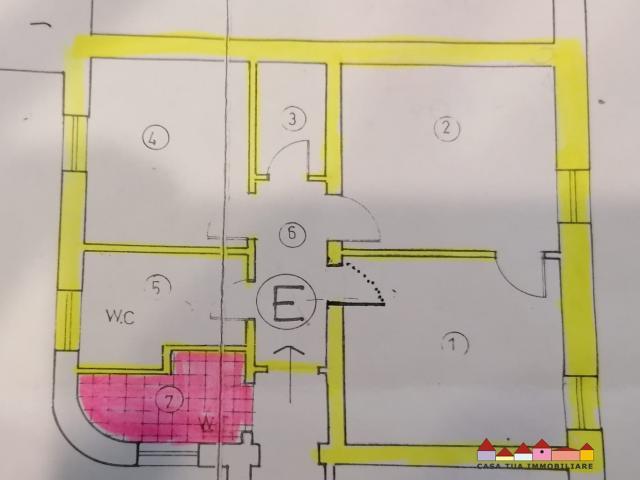 Case - Carrara ufficio centralissimo