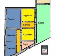 Massarosa: appartamento indipendente con resede