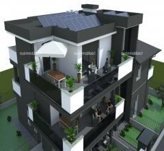 Residenza gardenia - attico con grande terrazzo in classe a