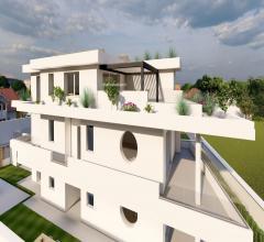 Appartamento in villa indipendente con favolosi terrazzi.