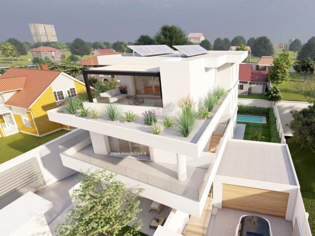 Case - Residenza magnolia - appartamento in villa con giardino, design in classe a!