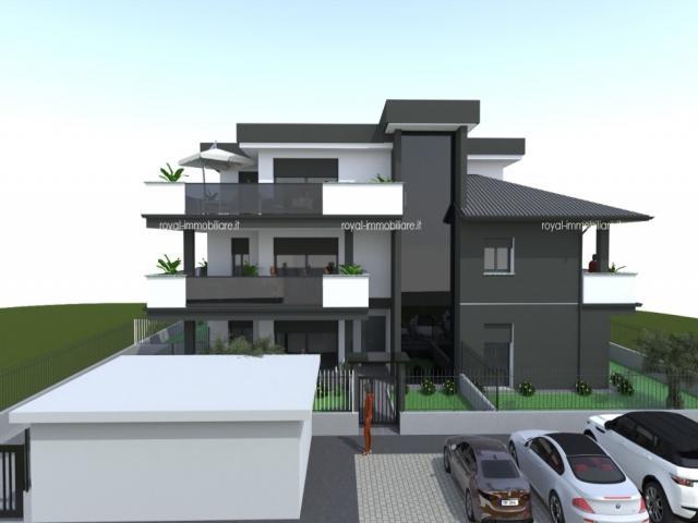 Case - Residenza gardenia - attico con grande terrazzo in classe a