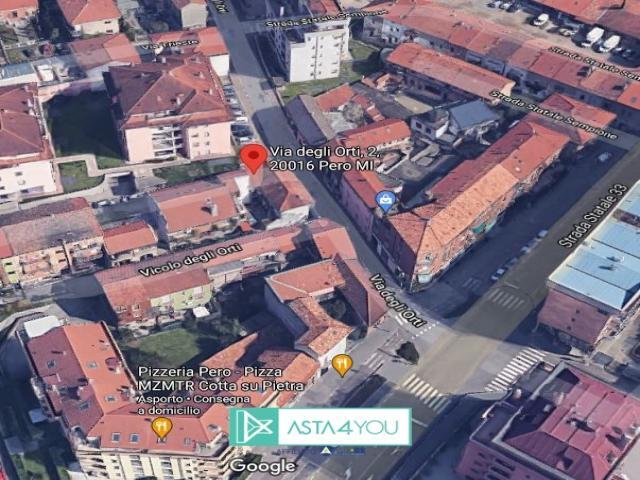 Case - Appartamento all'asta in via degli orti 2, pero (mi)