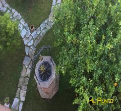 Sanremo porzione di villa con terrazza, giardino e vista mare