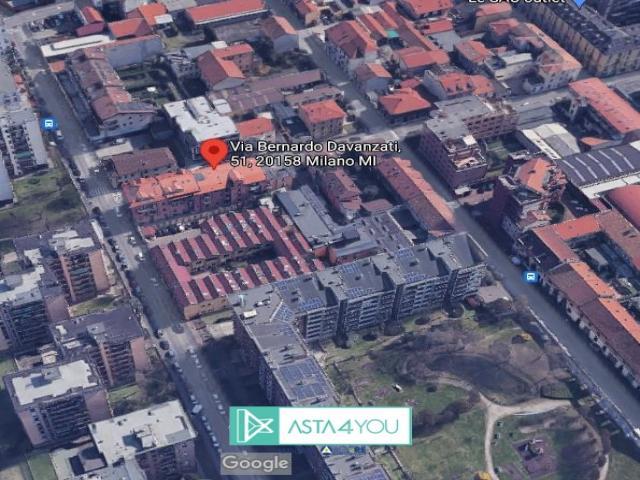 Case - Appartamento all'asta in via bernardo davanzati 51, milano (mi)