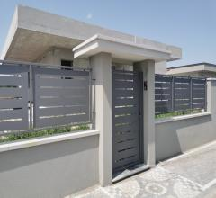 Villa a schiera in vendita a volla, nuova costruzione, su 2 livelli, con garage, giardino e terrazzo