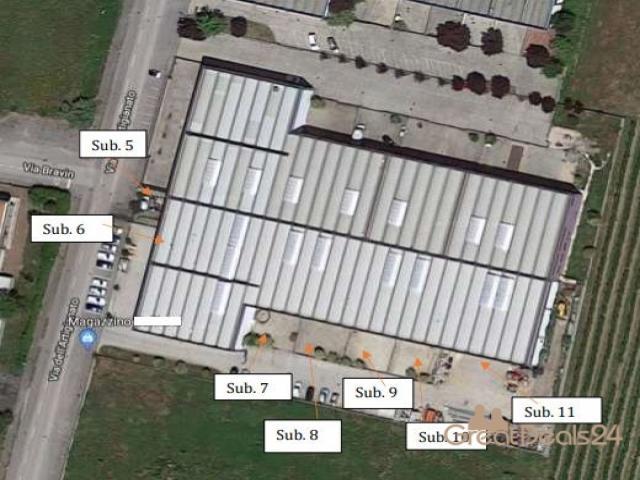 Case - Capannone artigianale su due piani - via dell'artigianato - concordia sagittaria 30023