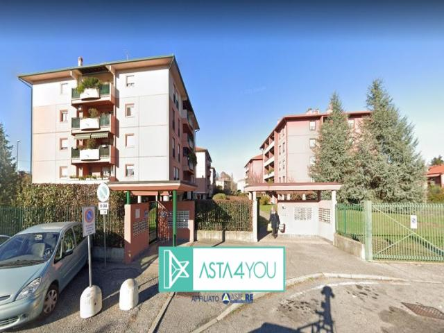 Appartamento all'asta in via monte sabotino 7/9, limbiate (mb)