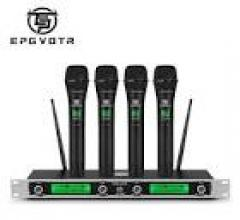 Beltel - ammoon sistema di microfono 4 canali uhf senza fili vera promo