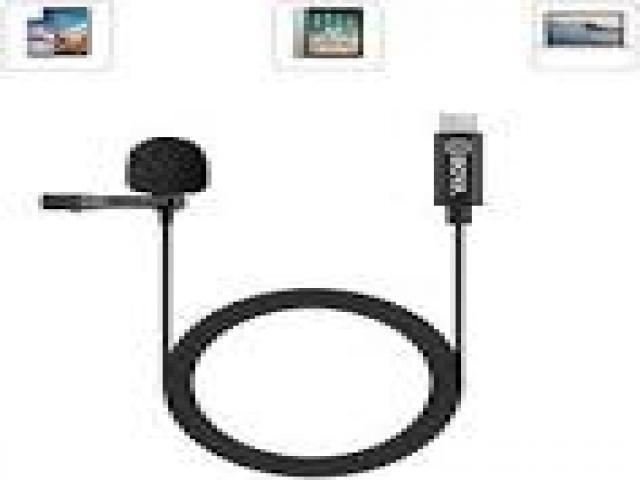 Telefonia - accessori - Beltel - vojopi microfono lavalier tipo economico
