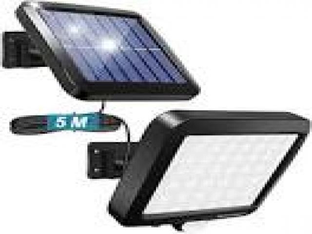 Telefonia - accessori - Beltel - cly faretto solare con sensore di movimento ultimo arrivo