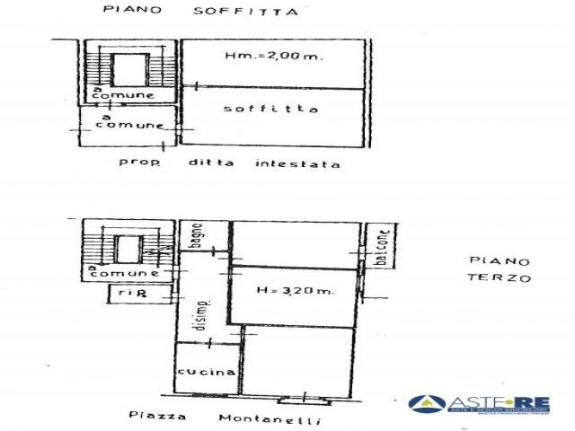 Case - Abitazione di tipo civile - via giuseppe montanelli 26