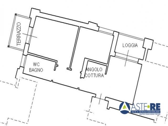 Case - Appartamento -via matilde da canossa