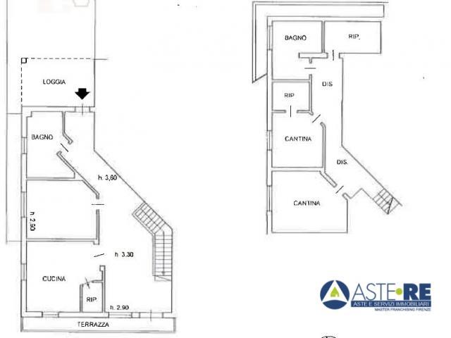 Case - Abitazione di tipo civile - via delle colline 18