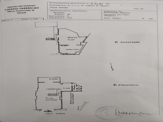Appartamenti in Vendita - Locale commerciale in vendita a chieti villa comunale