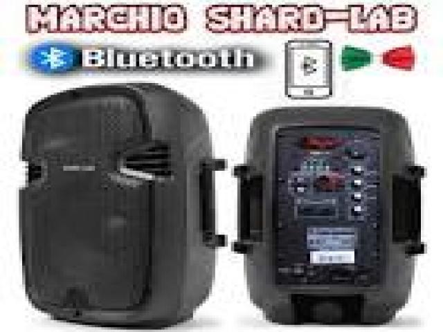 Telefonia - accessori - Beltel - shard lab coppia casse amplificate tipo conveniente