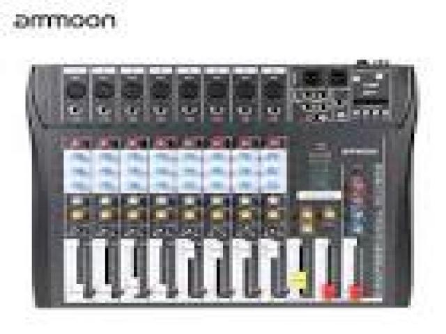 Telefonia - accessori - Beltel - ammoon ct80s-usb mixer digitale vera offerta