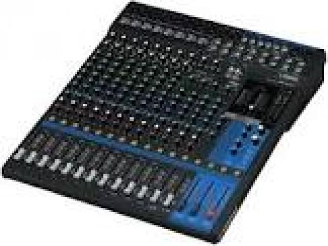 Telefonia - accessori - Beltel - yamaha mg16xu 16channels audio mixer ultima promo