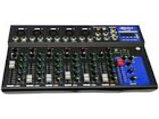 Telefonia - accessori - Beltel - bes srl mixer controller audio professionale 7 canali tipo occasione