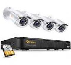 Beltel - anlapus kit videosorveglianza di sicurezza ultimo modello