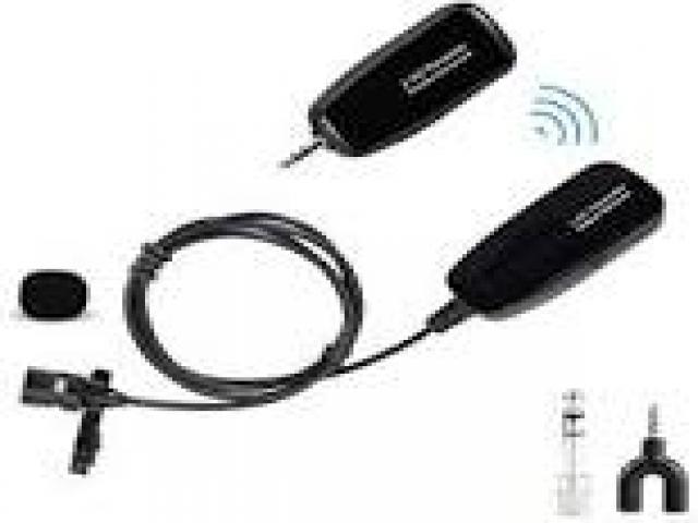 Telefonia - accessori - Beltel - boya microfono lavalier 2.4 g tipo occasione